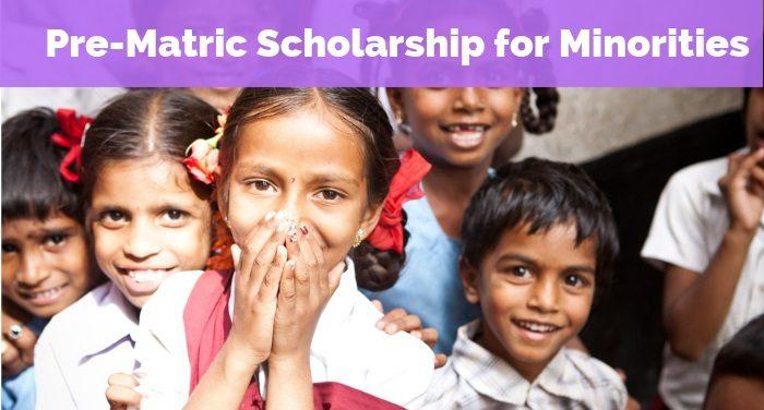Pre-Matric Scholarship for Minorities