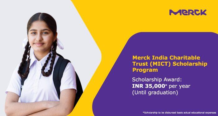 Merck India Charitable Trust Scholarship Program
