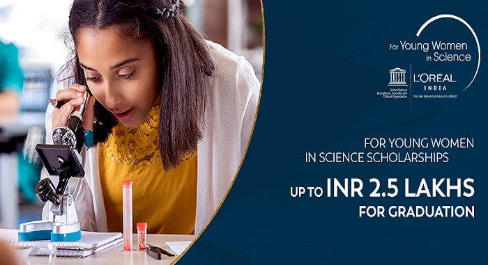 L'Oréal India For Young Women In Science Scholarships