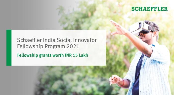 Schaeffler India Social Innovator Fellowship Program