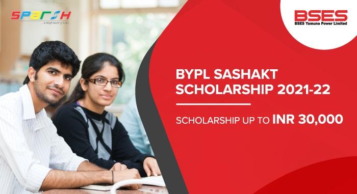 BYPL SASHAKT Scholarship