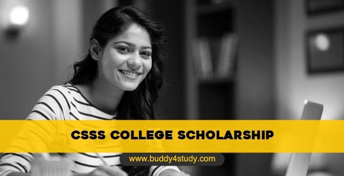 CSSS Scholarship