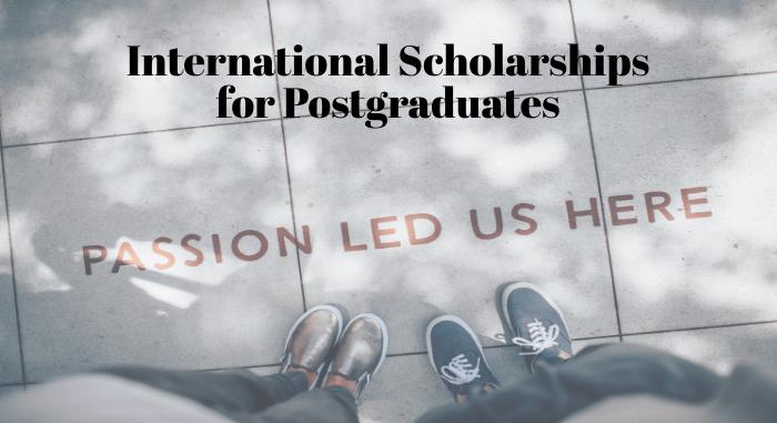 International Scholarship for Postgraduates at Buddy4Study