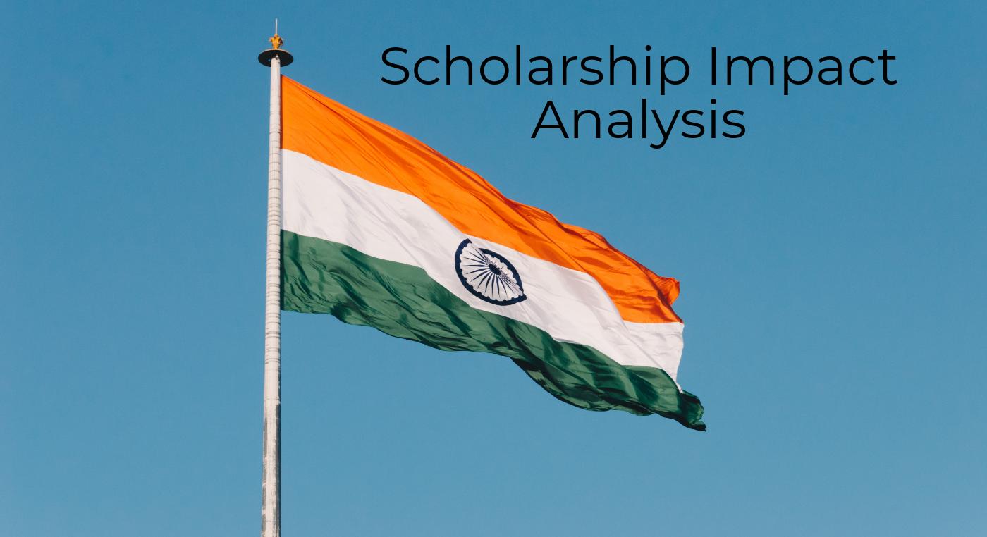 scholarships impact on indian education