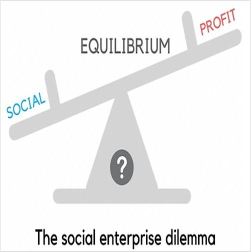 Equilibrium of Social enterprise
