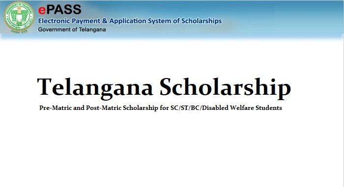 Telangana Scholarship 2019-20 - Ts epass Eligibility, Application Process