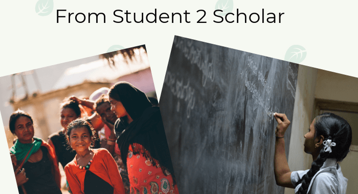 Helping students who need a scholarship