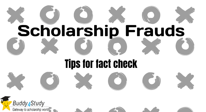 Tips to check Scholarship Frauds