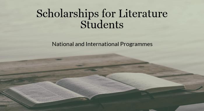 Literature Scholarships India Buddy4Study