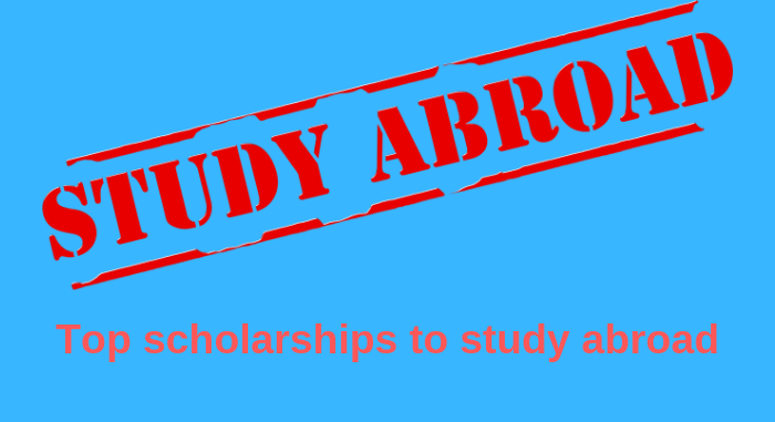Top scholarships to study abroad