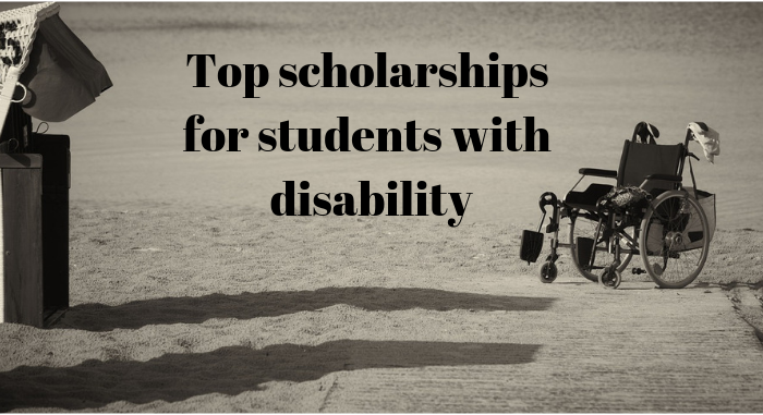 Top scholarships for students with disability