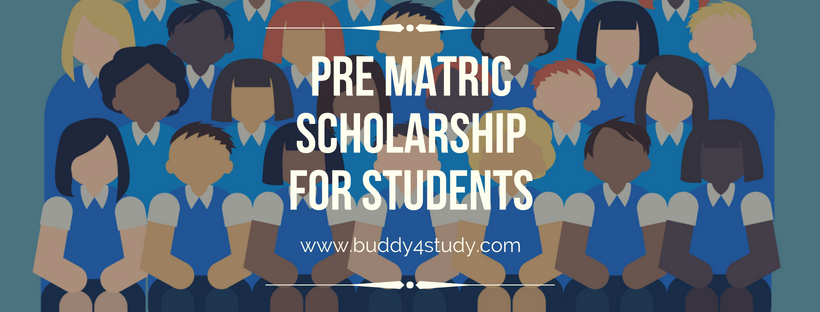 Government Pre Matric Scholarship for Students