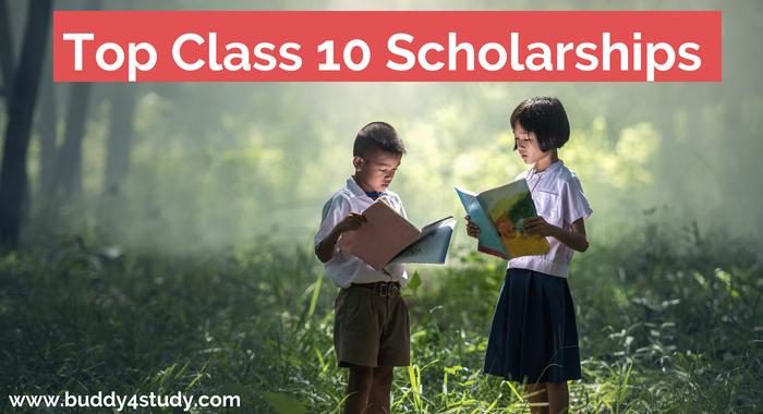 Class 10 Scholarships Buddy4Study