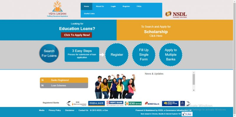 Vidyalakshmi Portal: Education Loan at Buddy4Study