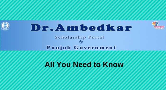 Dr Ambedkar Scholarship Portal of Punjab
