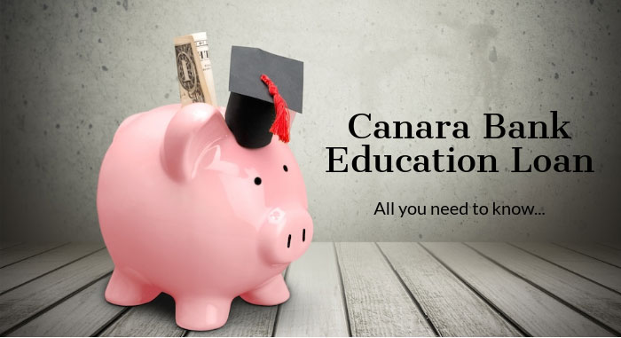 Canara Bank Education Loan at Buddy4Study