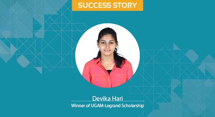 Scholar Success Story Devika Hari