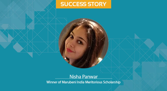 Scholar Success Story - Nisha Panwar