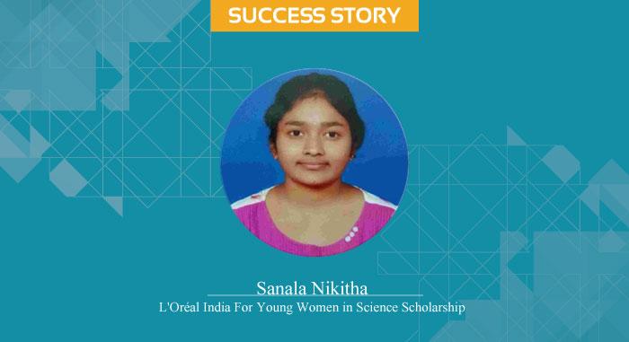 Scholar Success Story - Sanala Nikitha