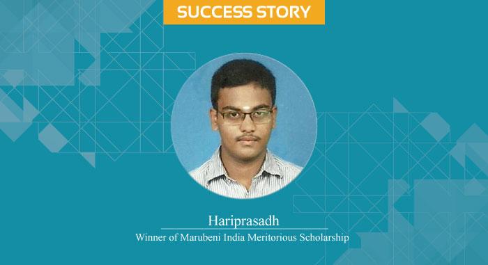 Scholar Success Story - Hariprasadh
