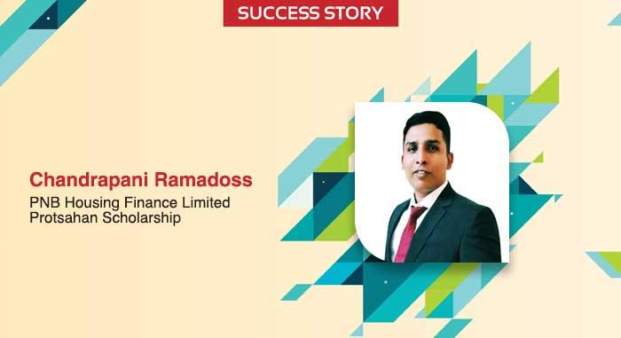 Scholar Success Story – Chandrapani Ramadoss