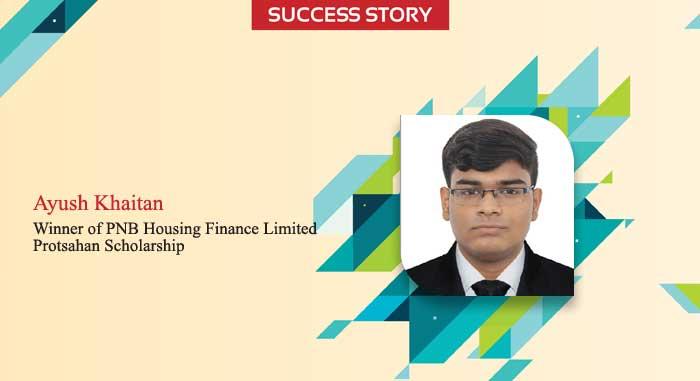 Scholar Success Story - Ayush Khaitan