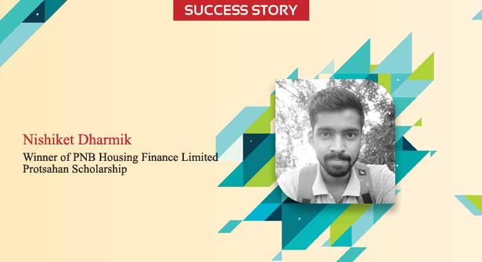 Scholar Success Story - Nishiket