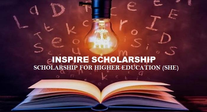 INSPIRE Scholarship 2019
