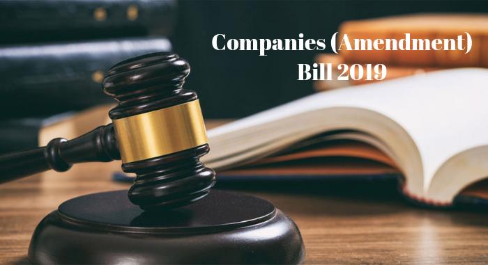 Companies (Amendment) Bill 2019