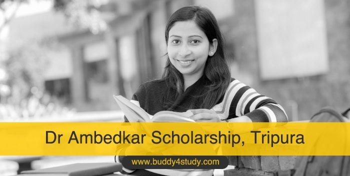 Dr Ambedkar Scholarship, Tripura