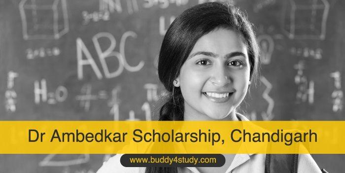 Dr Ambedkar Scholarship, Chandigarh