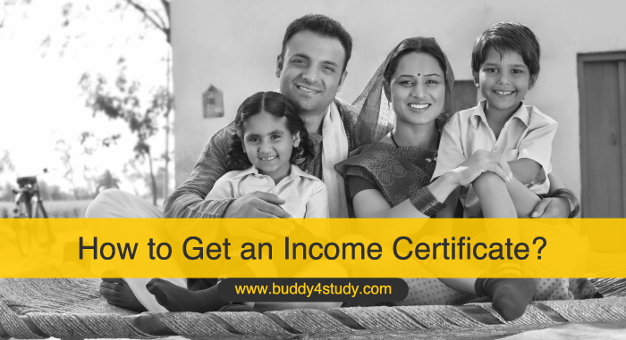 How to Get an Income Certificate