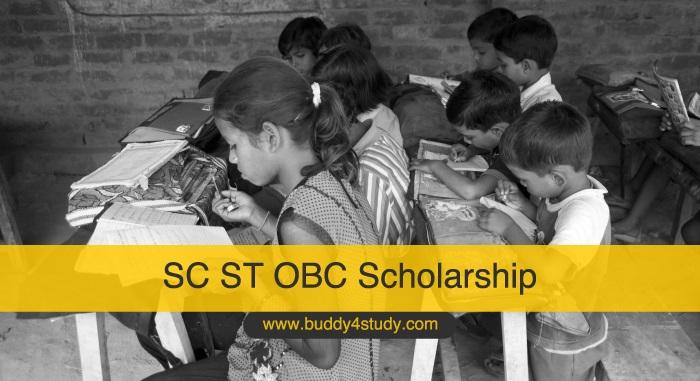 SC ST OBC Scholarship