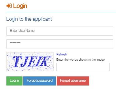MahaDBT Login - Enter your created Username and Password