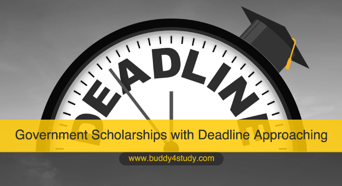 Top Government Scholarships with Deadline Approaching