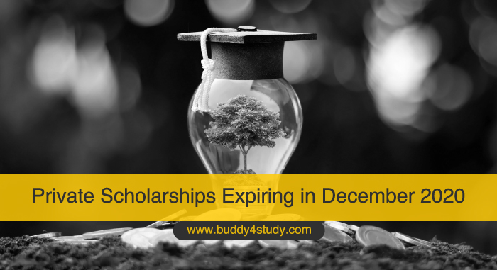 Private Scholarships Expiring in December