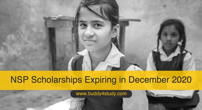 NSP Scholarships Expiring in December