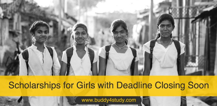 Scholarships for Girls with Deadline Closing Soon