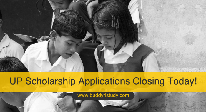 UP Scholarship Applications Closing Today