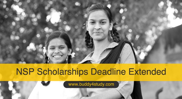 NSP Scholarships Deadline Extended