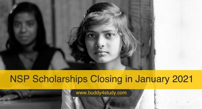 NSP Scholarships Closing in January 2021