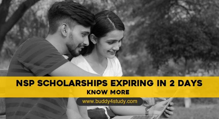 NSP Scholarships Expiring in 2 Days