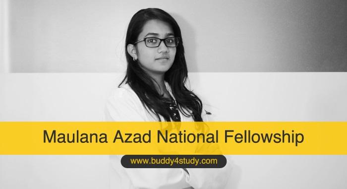 MANF – Maulana Azad National Fellowship