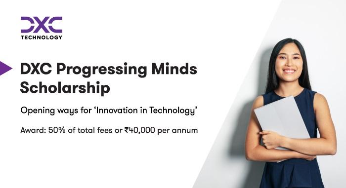 DXC Progressing Minds Scholarship