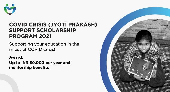 COVID Crisis (Jyoti Prakash) Support Scholarship