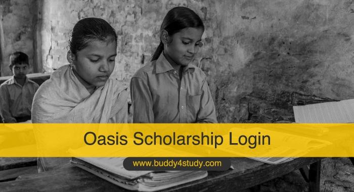 Oasis Scholarship Login