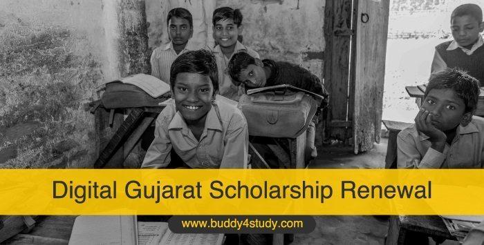 Digital Gujarat Scholarship Renewal