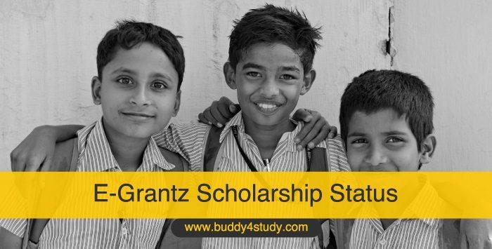 E-Grantz Scholarship Status
