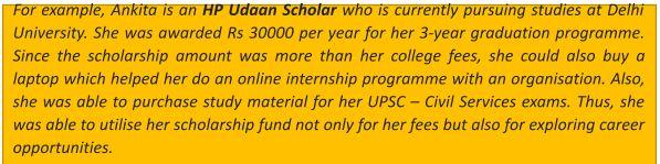 Fixed Scholarship – Benefits & Advantages