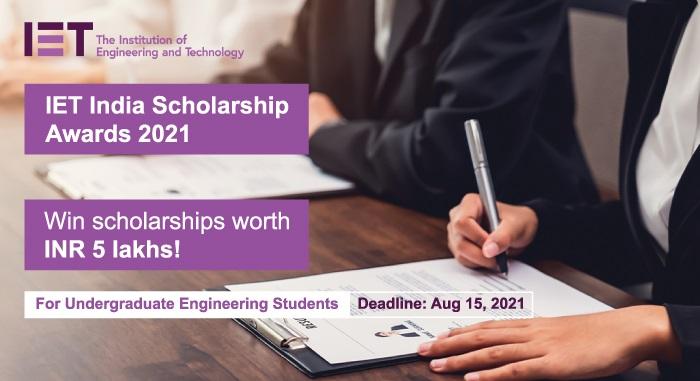 IET India Scholarship Awards